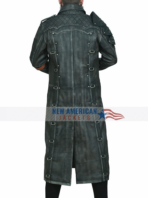 Playerunknown's Black Trench Coat