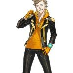 Pokémon Go Fancy Spark Leather Jacket
