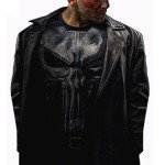Punisher Black Trench Coat