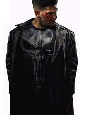 Frank Castle Punisher Leather Coat