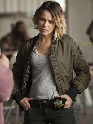 True Detective Rachel McAdams Bomber Jacket