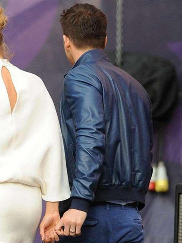 Ryan Reynolds Real Leather Jacket