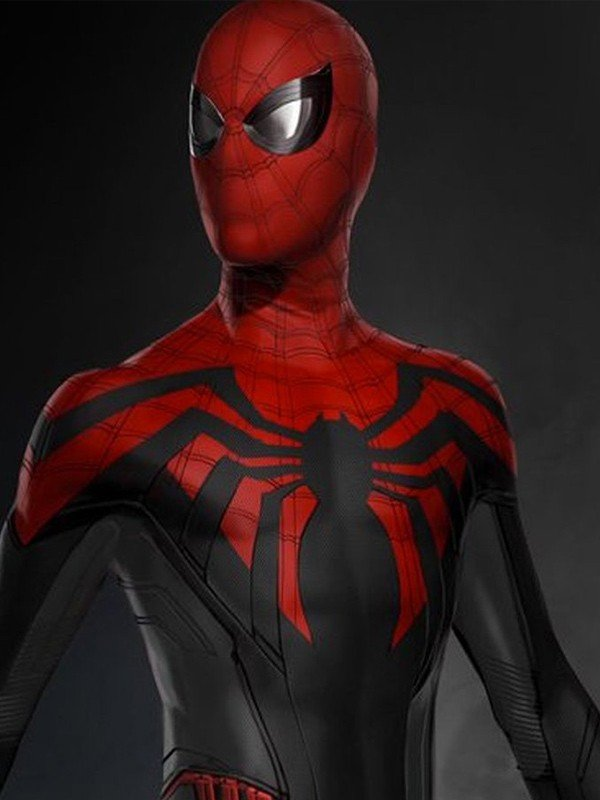 Spider-man far from Home Tom Holland Red and Black Jacket