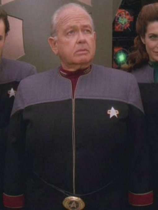 Star Trek Deep Space Nine Black and Gray Jacket