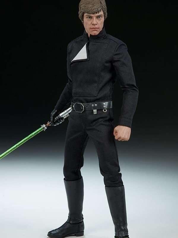 Star Wars Return of the Jedi Luke Skywalker Black Jacket