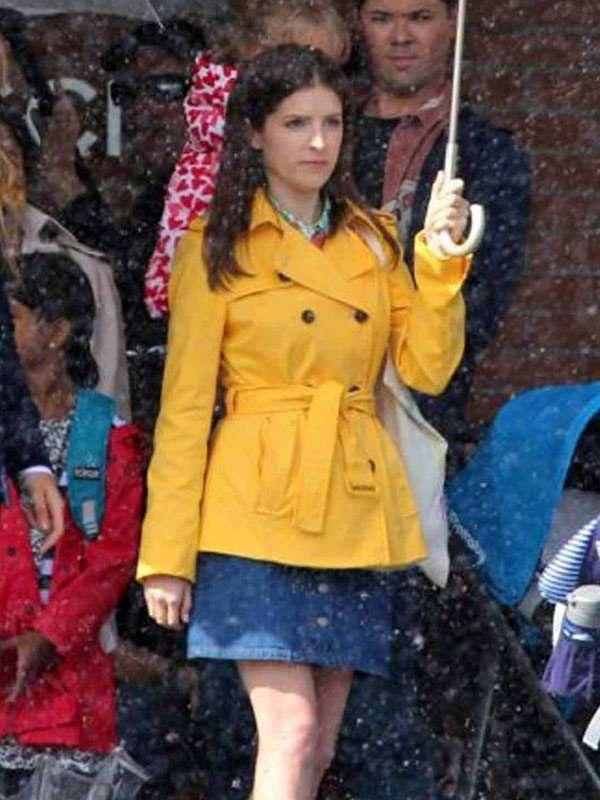 Stephanie Smothers Yellow Coat