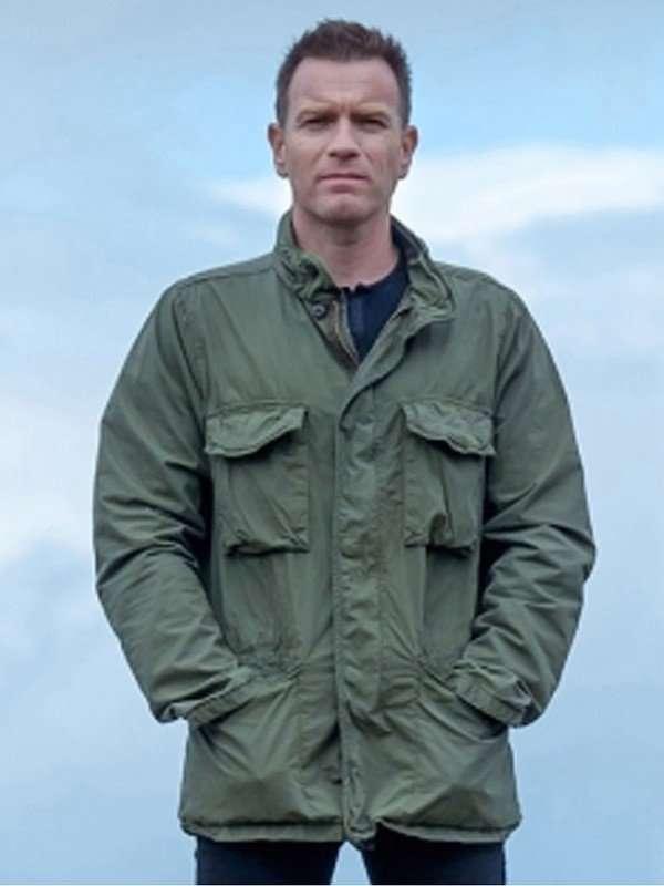 T2 Trainspotting Mark Renton Green Cotton Jacket
