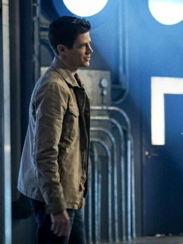 The Flash Barry Allen Brown Jacket