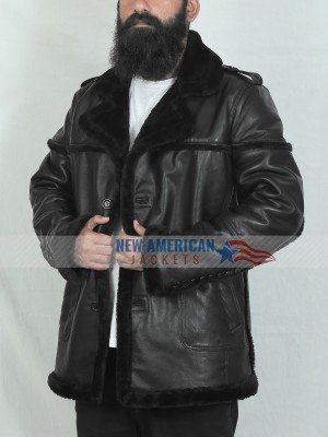 The Punisher Season 2 Billy Russo Shearling Jacket