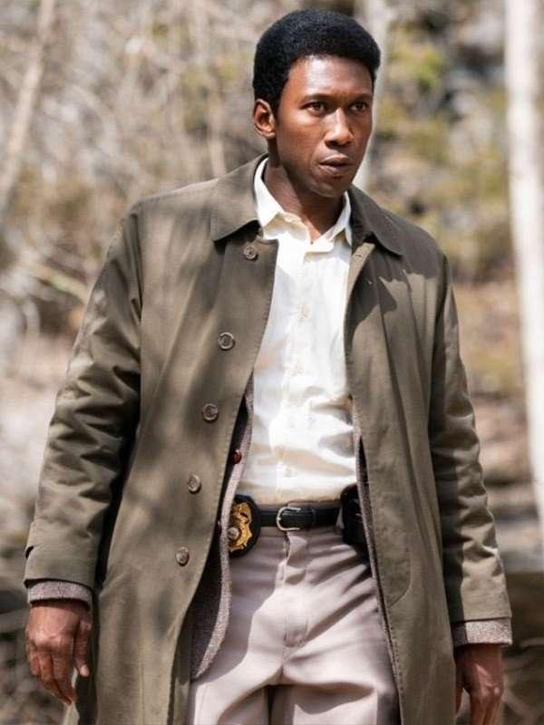 True Detective Mahershala Ali Beige Trench Coat