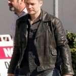 True Detective Officer Paul Woodrugh Black Leather Jacket