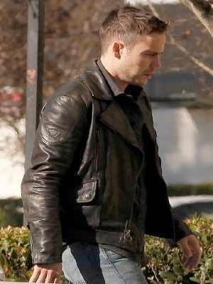 Officer Paul Woodrugh Leather Jacket
