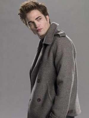 Twilight Robert Pattinson Wool Coat
