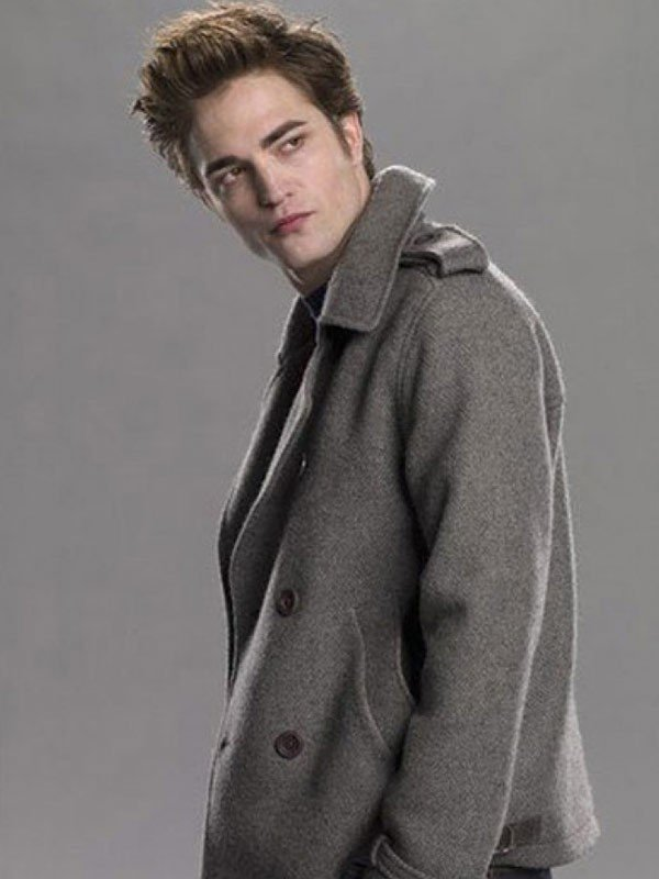 Twilight Edward Cullen Pea Coat