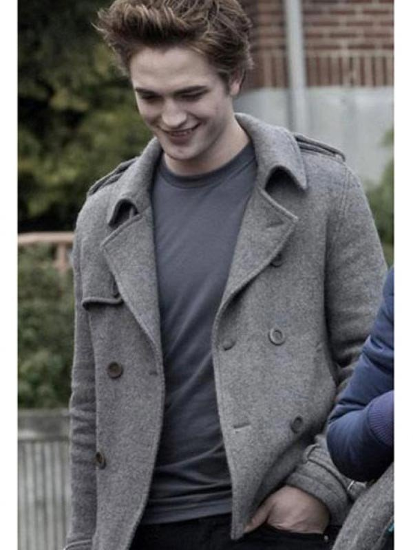 Twilight Robert Pattinson Wool Coat