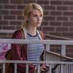 Vee Nerve Emma Roberts Red Bomber Jacket