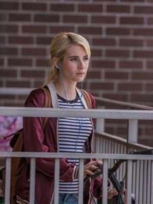 Nerve Emma Roberts Red Jacket