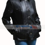 Alita Battle Angel Alita Leather Jacket