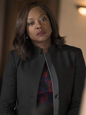 Annalise Keating How to Get Away with Murder Wool Jacket