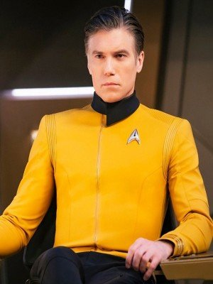 Christopher Pike Star Trek Yellow Uniform Jacket