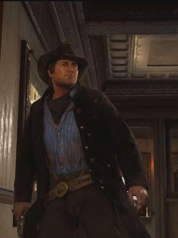 Arthur Morgan Red Dead Redemption ll Brown Coat