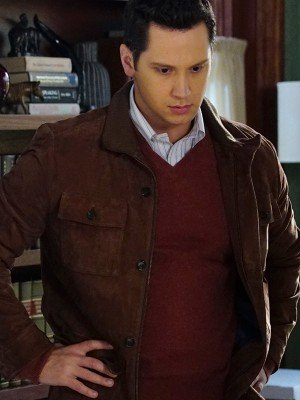 How to Get Away with Murder Matt McGorry Leather Jacket