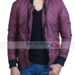 Barry Allen The Flash Grant Gustin Cotton Bomber Jacket