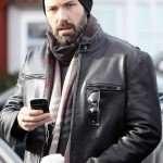 Ben Affleck Leather Jacket for Men