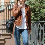 Bikers Style Emma Watson Leather Jacket