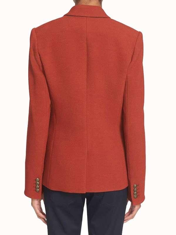 Bonnie Orange Blazer Jacket