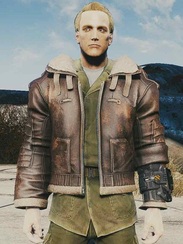 Bos Fallout 4 Leather Jacket