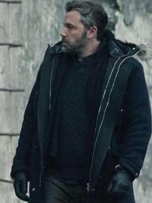Ben Affleck Justice League Bruce Wayne Black Parka Coat