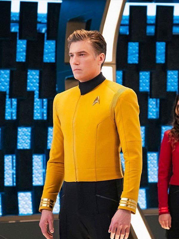 Captain Pike Yellow Leather Jacket