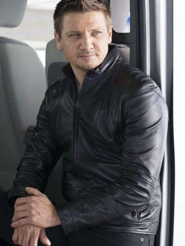 Civil War Jeremy Renner Black Jacket