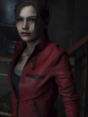 Resident Evil 2 Claire Redfield Red Jacket