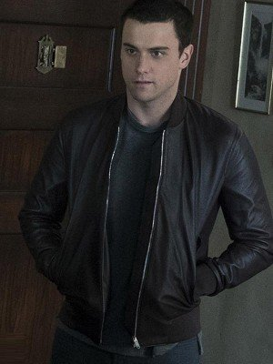 How to Get Away with Murder Jack Falahee Black Leather Jacket
