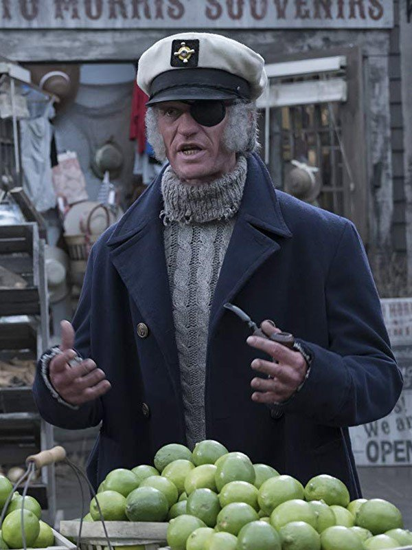 Count Olaf A Series of Unfortunate Events Long Coat