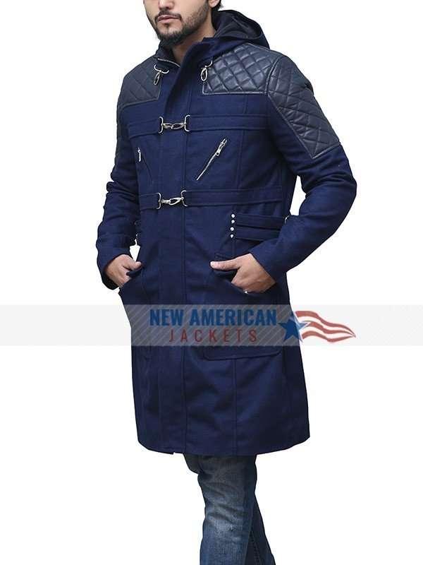 DMC Blue Nero Coat