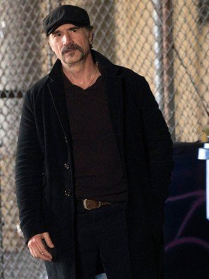 Chicago P.D Elias Koteas Black Blazer Jacket