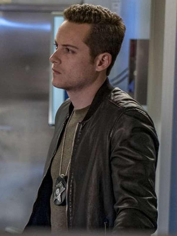Detective Jay Halstead Black Comber Jacket