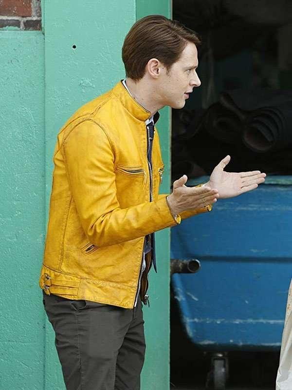 Dirk Gently's Holistic Detective Agency Samuel Barnett Yellow Jacket