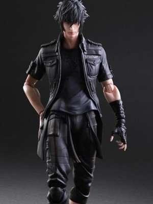 Dissidia Final Fantasy Noctis Lucis Caelum Leather Jacket