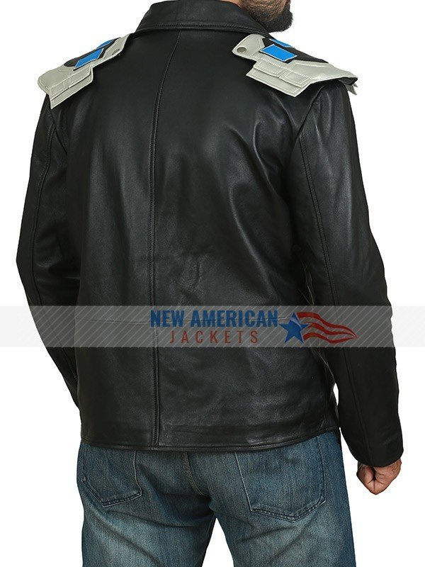 Doom Patrol Brendan Fraser Black Leather Jacket