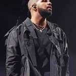 Drake Black Custom Craig Jacket