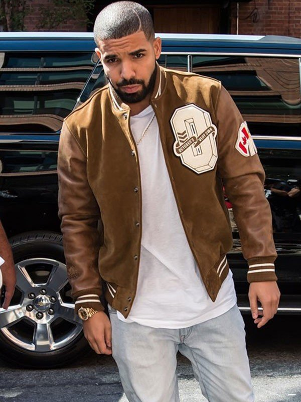 Drake Brown Suede Leather Jacket