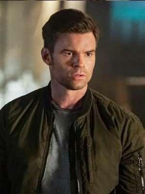 The Originals Elijah Mikaelson Green Cotton Jacket