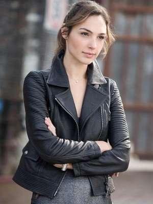 Fast and Furious 6 Gisele Yashar Leather Jacket
