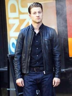 James Gordon Gotham Leather Jacket