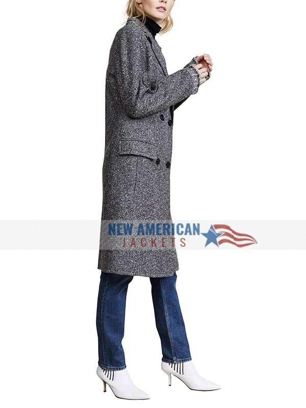Grey Russian Doll Wool Coat