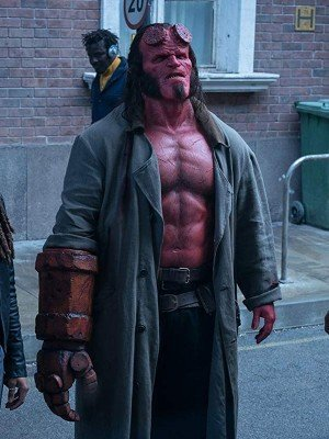 David Harbour Hellboy Long Coat